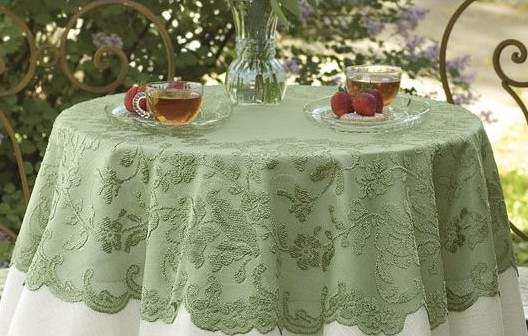 Tablecloths Embroider Chrochet Cutwork Lace