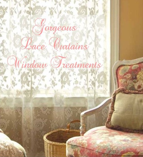 Gorgeous Lace Curtains Window treatments