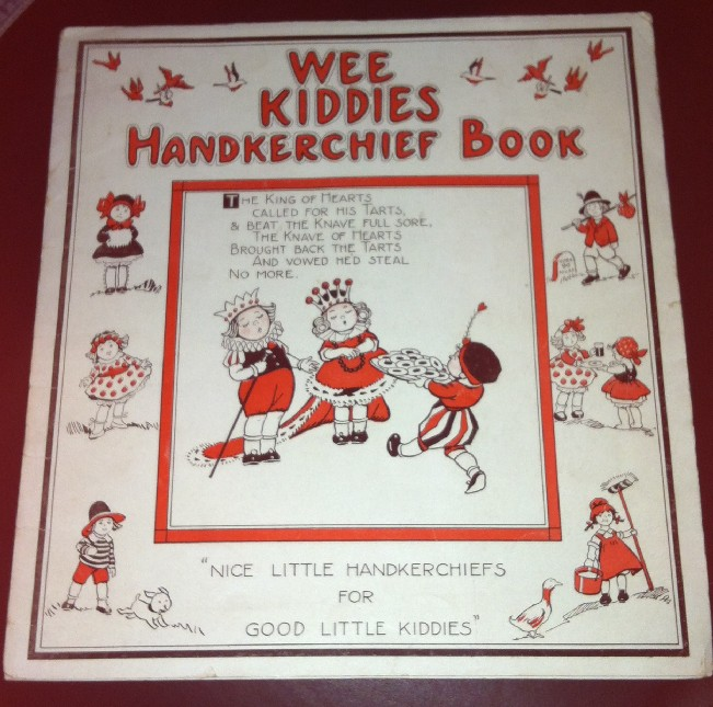 wee kiddies handkerchief book